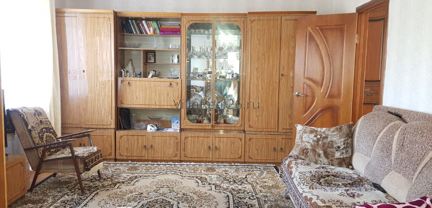 Дом с хорошим косметическим ремонтом