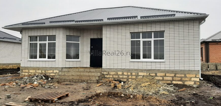 Продаётся дом отдельно стоящий , сдача под чистовую отделку.